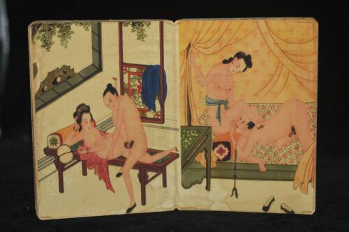 ancient painting shunga artistic erotic viusal painting book N2