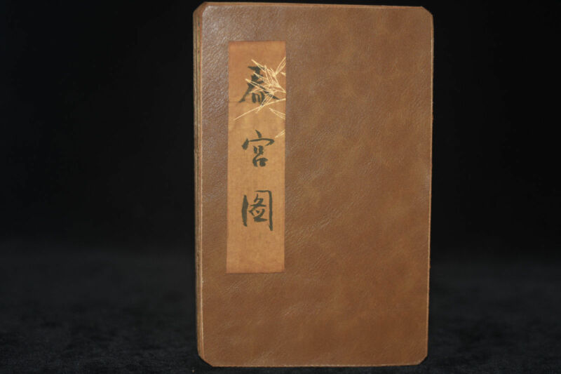 ancient painting shunga artistic erotic viusal painting book NA02