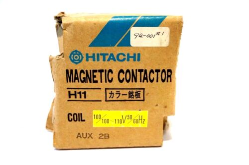NEW HITACHI H11 MAGNETIC CONTACTOR