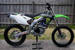 Kawasaki KX450F Rare Factory Monster Edition $$$ Extras Can Deliv Mordialloc Kingston Area Preview