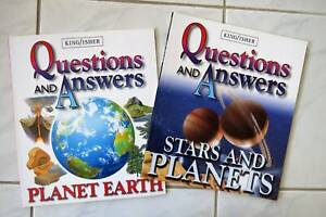 Question and Answers Books x 2 - New Mornington Mornington Peninsula Preview