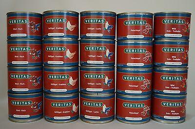 VERITAS Katzenfutter,10x200g Dosennahrung,5 Sorten in Premiumqualität,Angebot