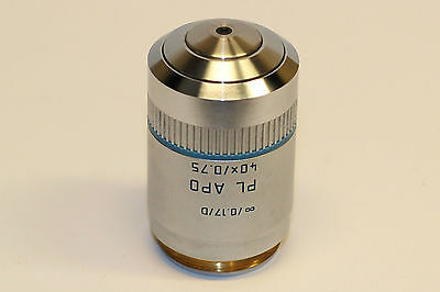 Leica Pl Apo 40x0.75 0.17d Microscope Objective Amazing Optics