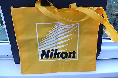 NIKON REKLAME KAMERA FOTOAPPARAT TASCHE BEUTEL CAMERA ADVERTISING BAG !!!!!!!