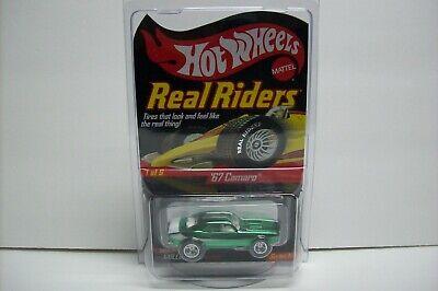 Hot Wheels HWC Real Riders Series '67 Chevy Camaro, LOW #562/11000 MIP, 2006!