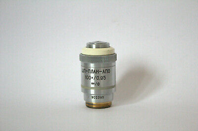 Lomo Microscope Gf Plan Apo 100 0.95 Inf 0 Dry Objective Rms Thread