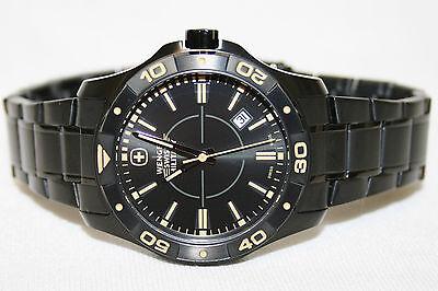 Wenger Swiss Military Alpine QZ Men's Watch (Alpine Diver Watch)