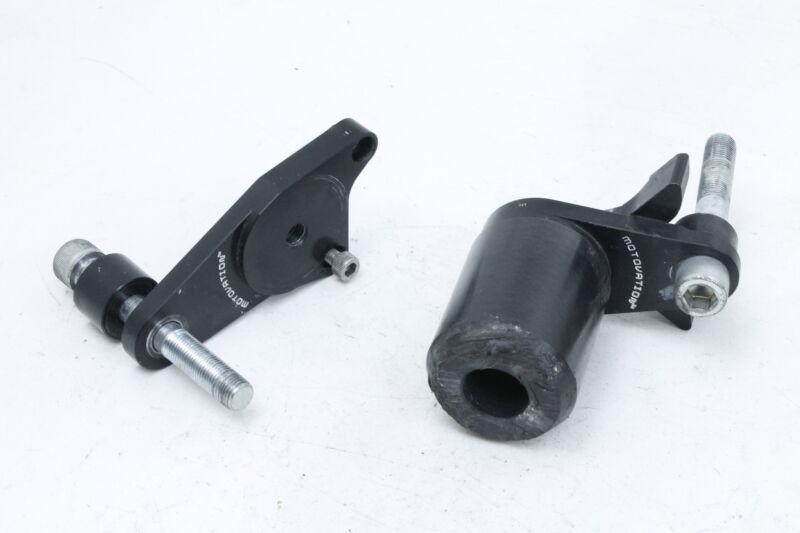 No Cut Frame Slider Crash Protector Compatible with 2006 2007 Honda CBR 1000RR 1000 RR Black HONGK B01BW4OEAE