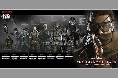 RGC Huge Poster - Metal Gear Solid 5 Phantom Pain Snakes PS4 XBOX ONE - MGSO13