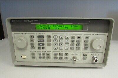 Agilent 8648b Synthesized Signal Generator 9 Khz To 2000 Mhz