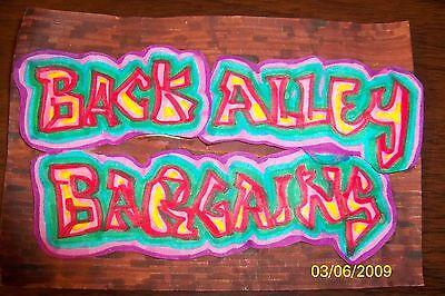 Back Alley Bargains