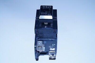 Pushmatic P250 Circuit Breaker 50a Amp 120240v 2 Pole Used Genuine 1