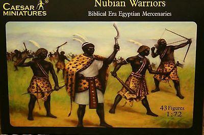 Caesar Miniatures 049 , 1/72 Nubian Warriors