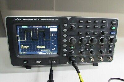 Lecroy Waveace 214 Oscilloscope 100mhz 4ch 1gss 10kptsch