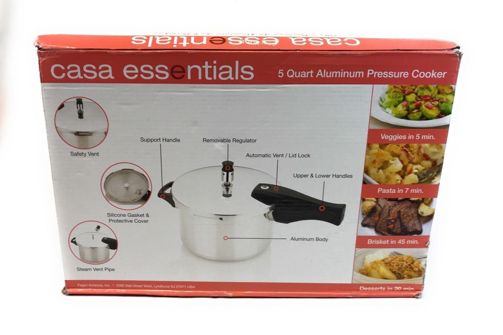 Essentials pressure cooker   ebay.