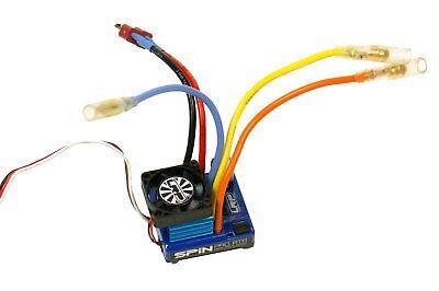 LRP Spin Pro Brushless Regler ESC 80250 2-4S Lipo ESC Fahrtregler Fahrregler NEU