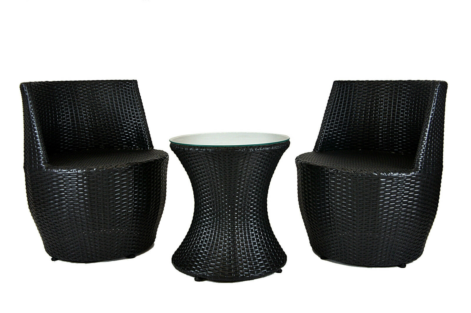 gartenm bel set poly rattan vase lounge balkonset. Black Bedroom Furniture Sets. Home Design Ideas