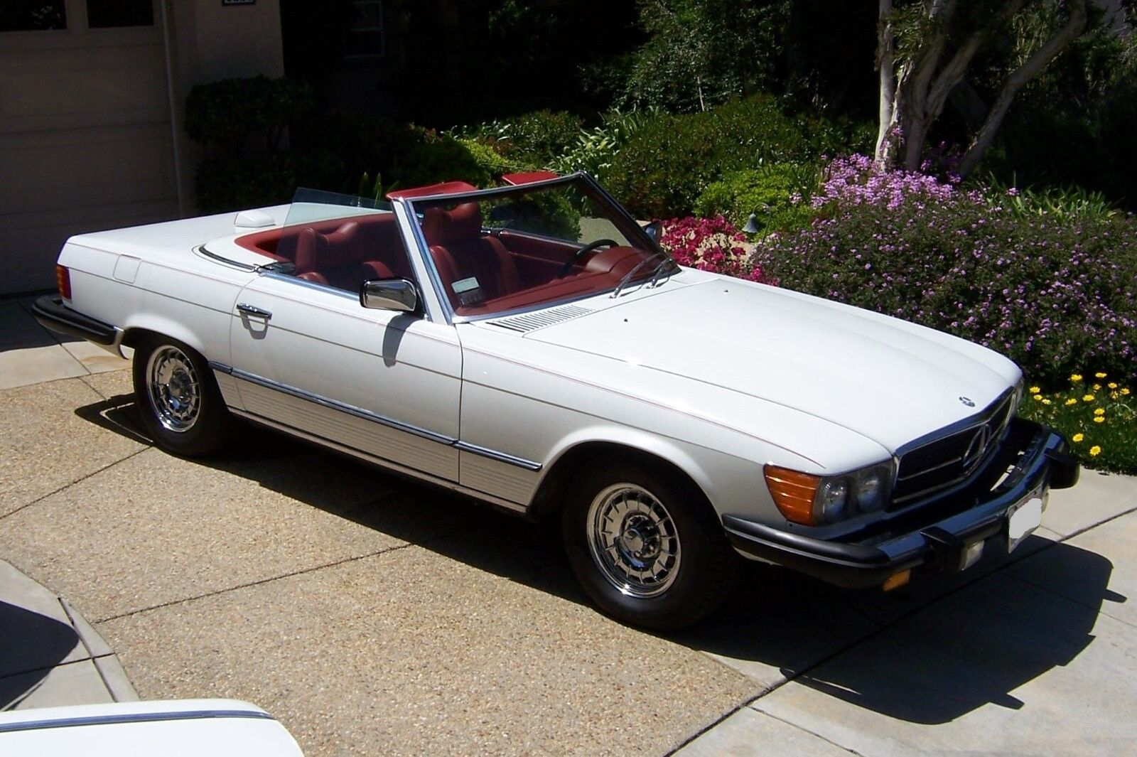 1977 mercedes benz 450sl 52k original miles two tops for Used 450sl mercedes benz sale