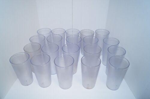CAMBRO 3200P DRINKING GLASSES LOT 20 USA NICE