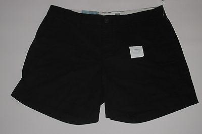 "NWT- OLD NAVY Black 5"" shorts Size 12"