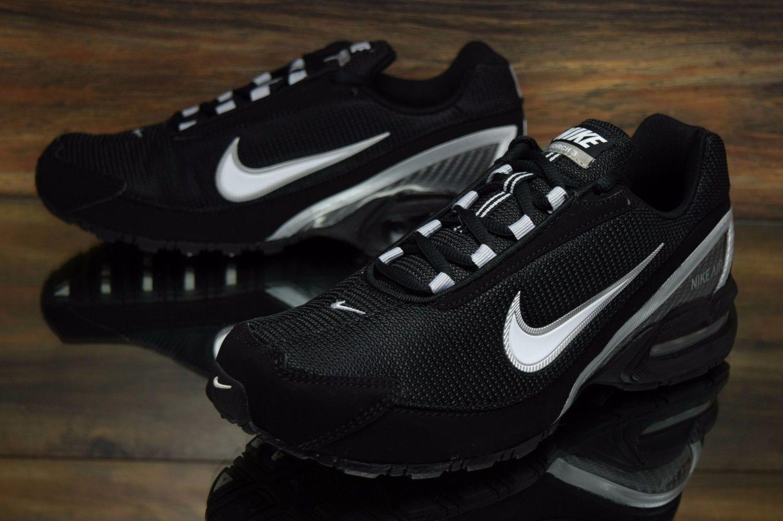 b143223fa1 Nike Air Max Torch 3 Black White 319116-011 Running Shoes Men