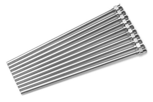 "Dispense All - 10 Pack - 5"" Dispensing Needle - Blunt Tip, Luer Lock, All Metal"
