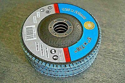 10 F/ächerscheiben K 80 Flex /Ø 115 x 22mm Schleifscheiben