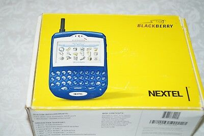 7520 Blackberry (BlackBerry 7520 Black Sprint Smartphone Nextel Collectors )