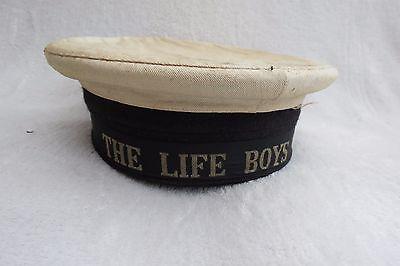 VINTAGE THE LIFE BOYS (BOYS BRIGADE?) NAVAL? CAP/HAT