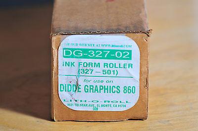Didde Web Press Roller 327-501 Lith-o-roll Dg-327-02