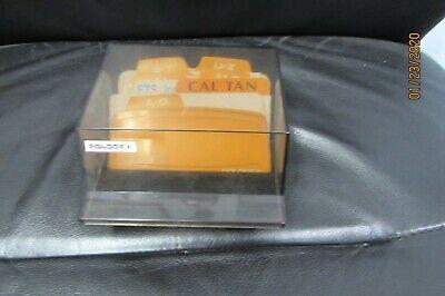 Rolodex Petite Black S-3000 Address Phone Business Card File Box