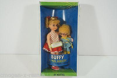 Nice Vintage 1967 Mattel Buffy & Mrs. Beasley Dolls #3577 NIB New In Box-CG17971