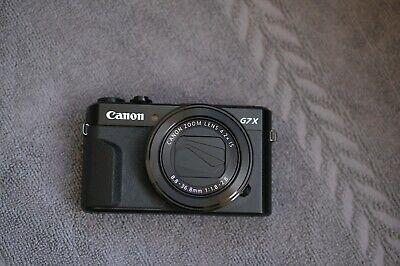 Canon PowerShot G7X Mark II 20.1 MP Compact Digital Camera Barely used