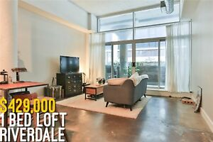 Stunning One Bedroom Loft In Leslieville
