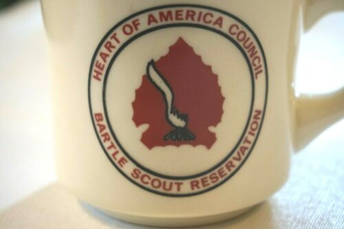 Bartle Scout Reservation Ceramic Mug Coffee Cup BSA Boy Scouts of America