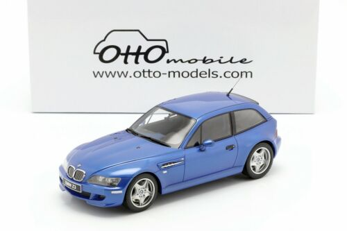 BMW Z3 M Coupe 3.2 1999 Estoril Blue L.E.1/2000 - 1/18 - OTTO