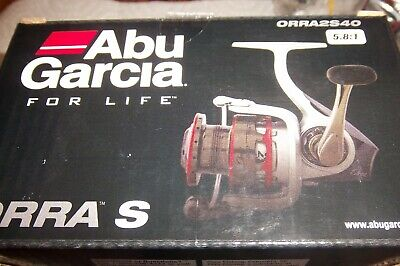 ABU GARCIA ORRA S ORRA2S40 5.8:1 GEAR RATIO SPINNING REEL # 1324548