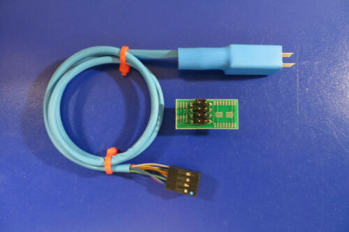 With free guide cap SOIC8 Pogo Pin Adapter For EEPROM  / 93CXX / 25CXX / 24CXX