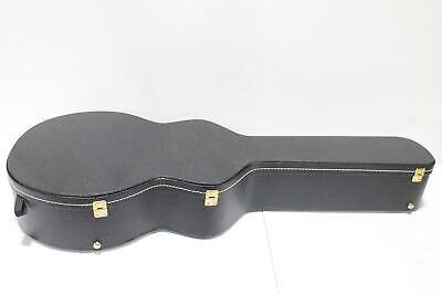 TKL Full Size Dreadnought Guitar Case - 7815 - Black w/ Brass Hardware