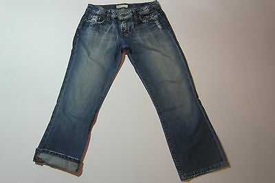 BKE Destructed Element Capri Cropped Jeans Size 29