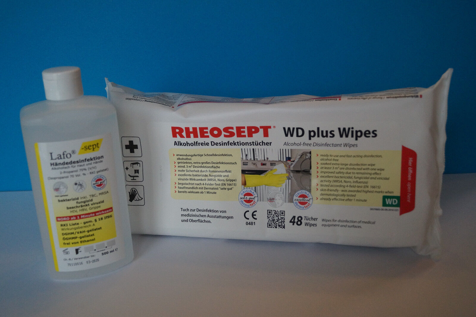 Desinfektion Set Hygiene Urlaub Händedesinfektion Hausapotheke Arzt Noro Grippe