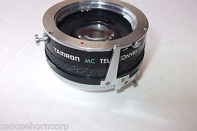 Tamron MC 2X TeleConverter M/MD 35mm SLR Camera Lens Adapter Converter-FREE SHIP