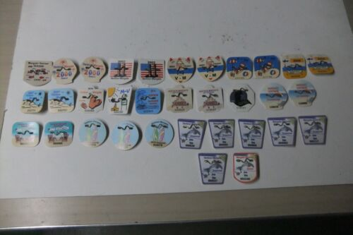 VENTNOR-MARGATE, NEW JERSEY SHORE BEACH TAGS, LOT OF 33, ASST. FROM 1999 TO 2020
