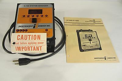 C 120 Systems Manager   Independent Energy Inc   Programmable Controller