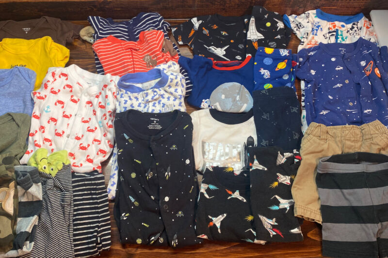 Mixed Lot of Boy Baby Clothing 9 Month