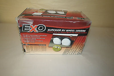 Eevelle EXWC1922 Expedition Wheel Covers Manufactured by Eevelle Set of 2 White