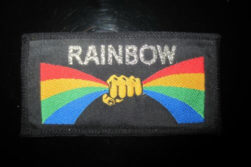 Vintage Rainbow Rock Music Patch In Mint Condition!