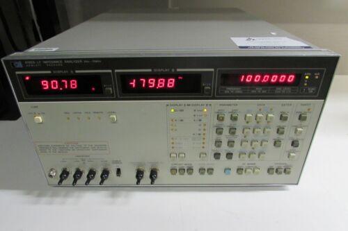 HP 4192A LF Impedance Analyzer 5 Hz to 13 MHz