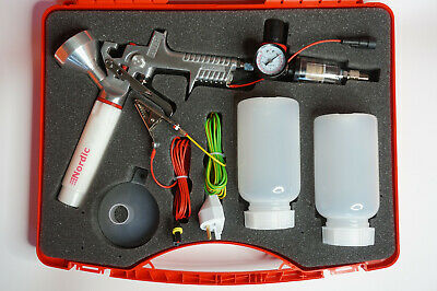Powder Coating System Nordicpulver Pro With Case Powder Paint Spray Gun Us Plug