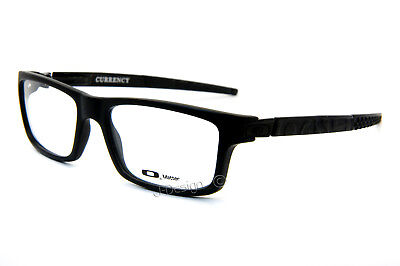 New Oakley CURRENCY OX8026-0154 Satin Black size 54-17-133 Eyeglasses Optical for sale  Los Angeles